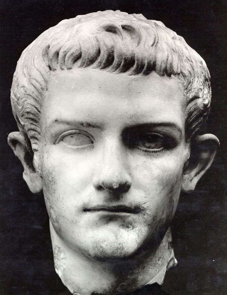 "Caligula(b.12-41AD): 3rd emperor of Rome(followed Tiberius Claudius Nero) who suffered a ""brain sickness"" in AD37 and thus became crazy; c. 38 makes his horse a consular and gives him a marble stall; Goes to make Britania a Roman province, but after arriving, commands his men to, instead of fighting, collect seashells and parades them through Rome; Declares himself a god-king; Assassinated in 41 via his Praetorian Prefect(comparable to the head of the Secret Service)"