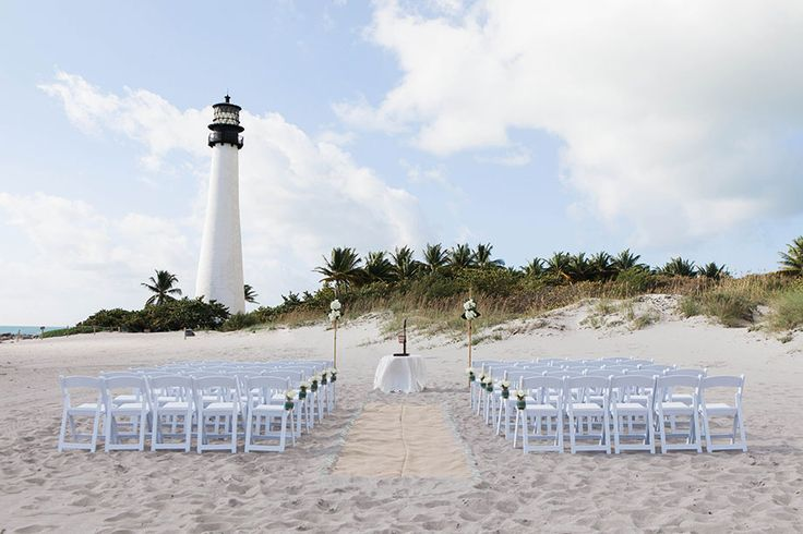 Bill Baggs Cape Florida State Park – Lighthouse Wedding | Small Miami Weddings