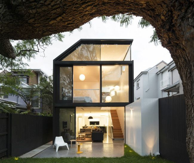 Enticingly Modern Cosgriff House by Christopher Polly Architect