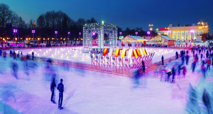 Ice rinks of Moscow