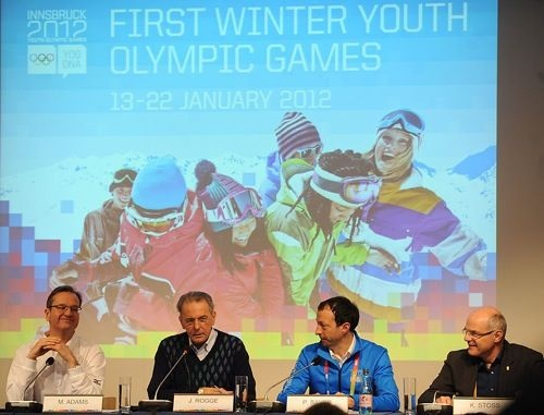 IOC President Rogge predicts a bright future for Youth Olympic Games