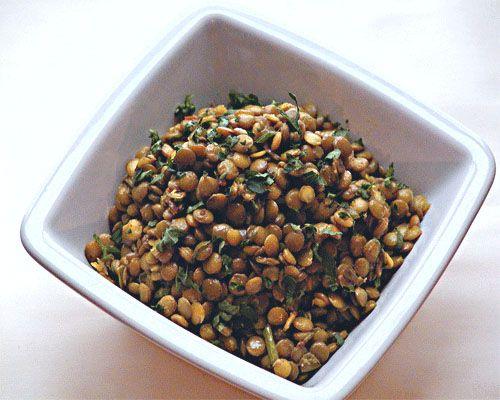Matig Linssallad|Recept på Gröna Linser Sallad|Matig sallad|Spring Sallad|mättande36