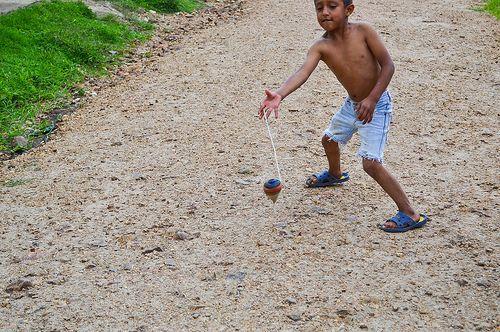 Long Lost Childhood Games - Spinning Top / Lattu / Bugari