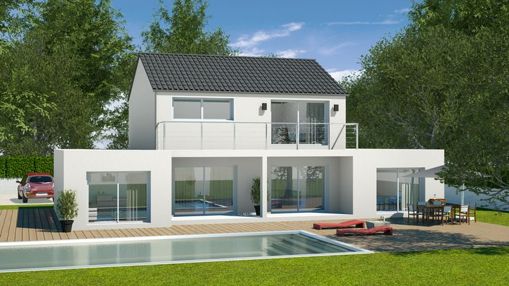 Made with our 3d software my sketcher 3d exterior design hd rendering pinterest 3d architecture 3d and exterior design