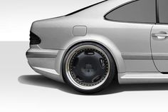 1998-2002 Mercedes CLK W208 Duraflex Black Series Look Wide Body Kit - 8 Piece