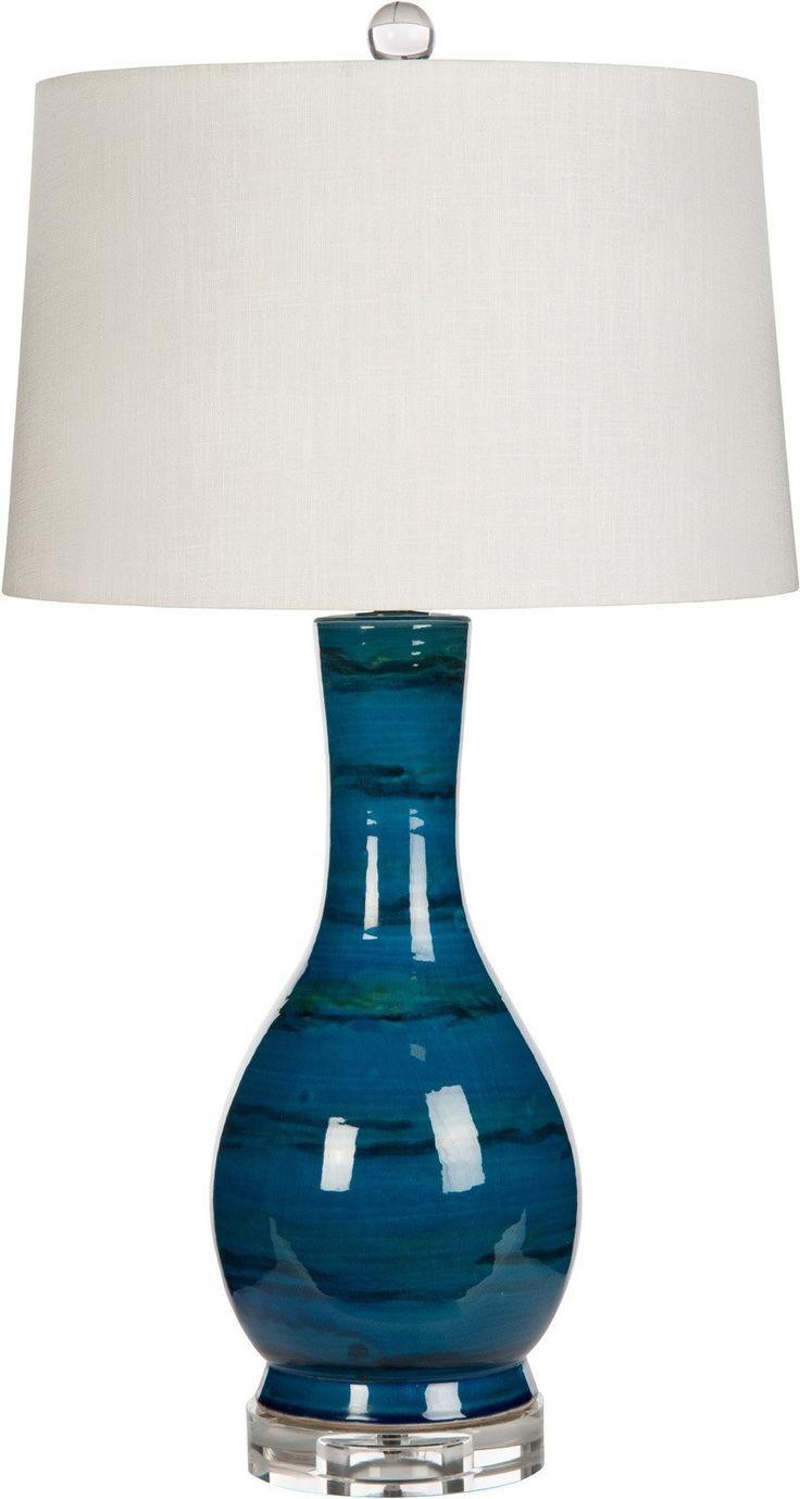 Bradburn Home Amelie Blue Table Lamp