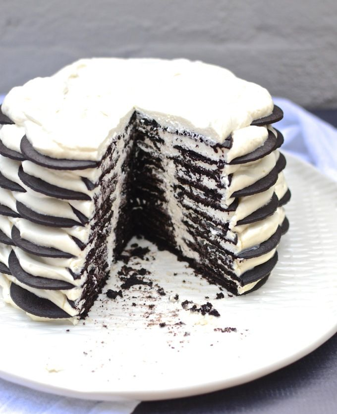 Coffee And Cream Icebox Cake