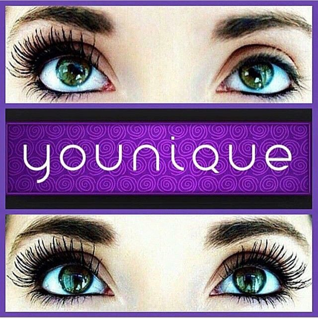 Feel good with longer lashes with Younique 3D Fiber Lash Mascara! Link in my bio for your lashes, @bestlashesever