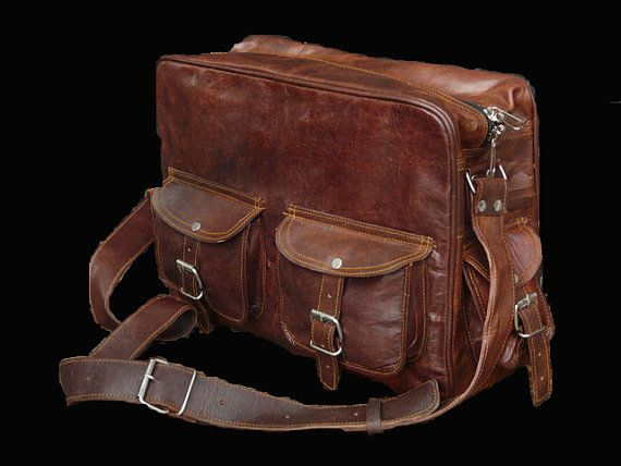 14 inches/Inch Leather Laptop/Messenger/Satchel by GenuineGoods786, $79.00
