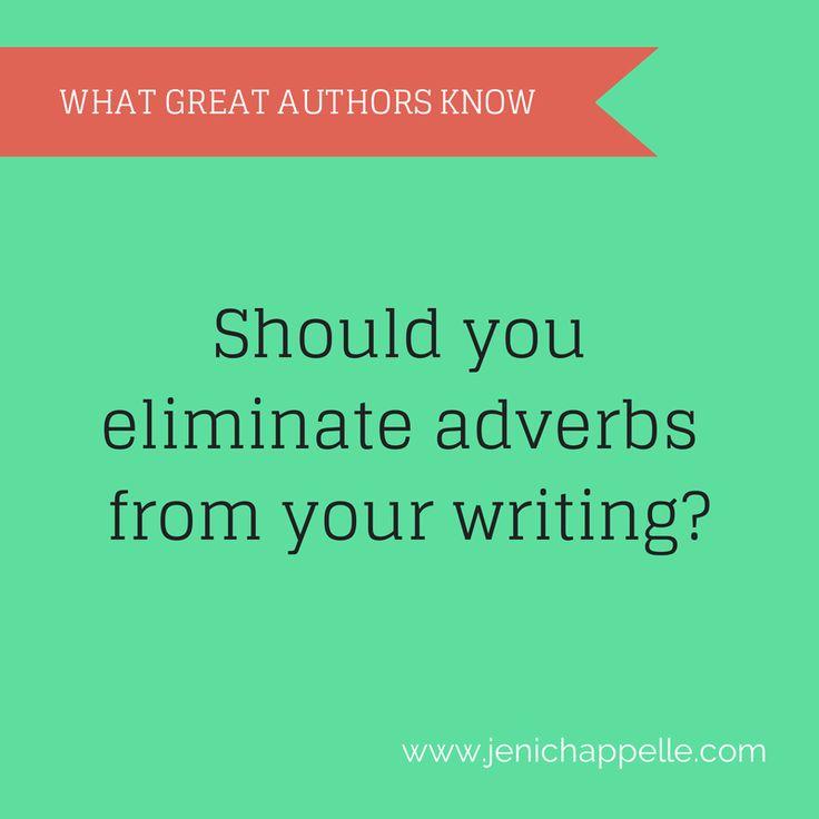 Adverbs - love 'em or hate'em