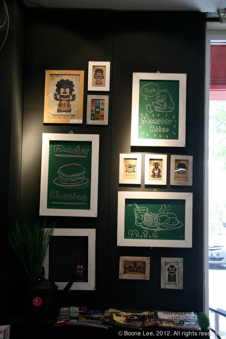 22 best café thing - cluster of frames images on pinterest | cafe