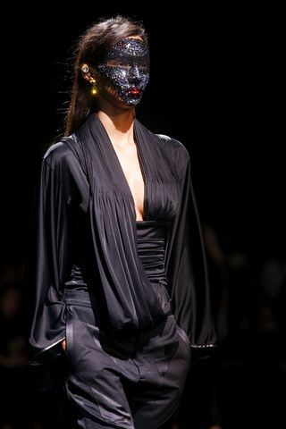 Dramatic Warriors at Givenchy s/s 2014