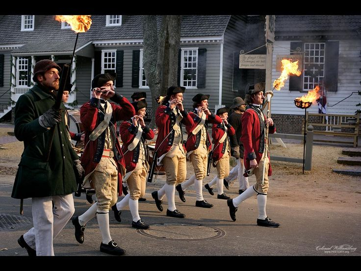 Holiday march - Colonial Williamsburg