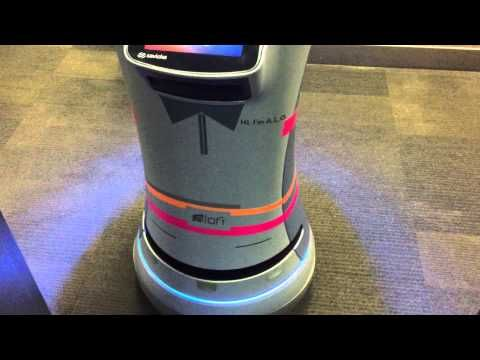 This Hotel Has A Droid Robot Room Service Butler [Video] - We were quite astonished to see that hotels, this particular one being Aloft, are now embracing droid tech to send room service orders to the rooms.