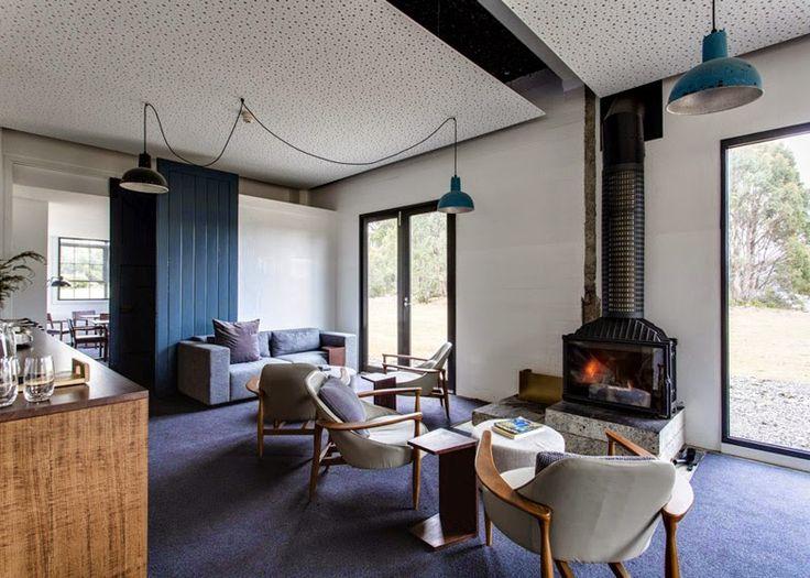 Design Hub - блог о дизайне интерьера и архитектуре: Бутик-отель посреди озера в Австралии