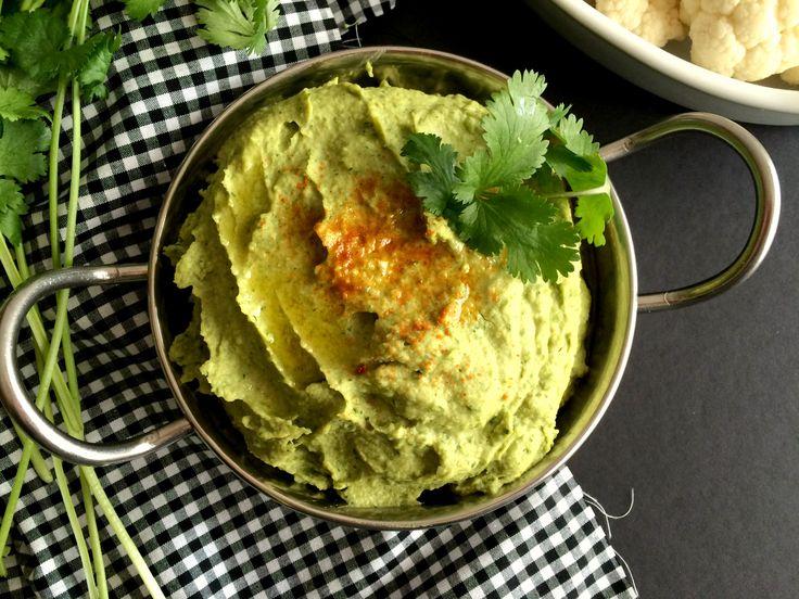 Cilantro Jalapeño Hummus {GF, Vegan, Low Cal} - Skinny Fitalicious