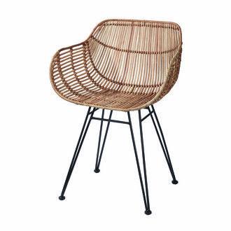 Les 25 meilleures id es concernant chaises en rotin sur for Chaise rotin et fer