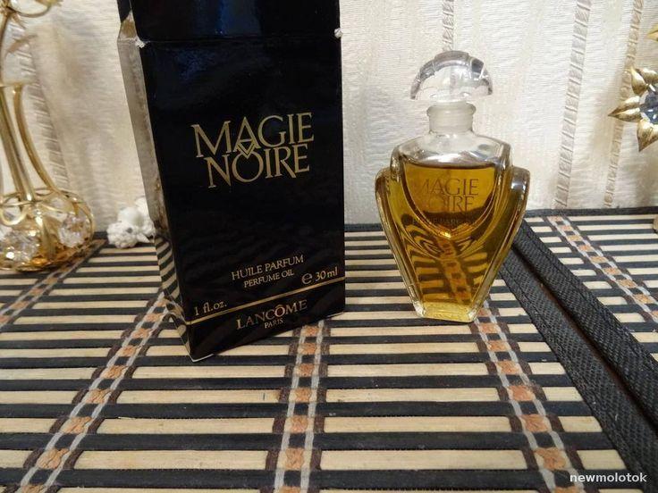 Magie Noire Lancome 30ml. Huile parfume oil Vintage 1990 by MyScent on Etsy