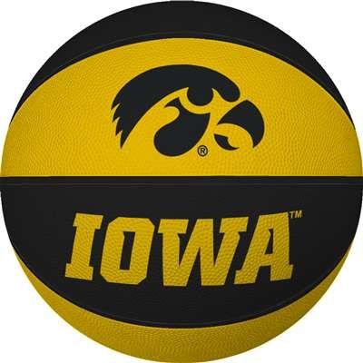 iowa hawkeye basketball | Iowa Hawkeyes Mini Rubber Basketball