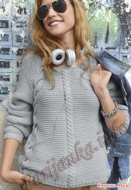 Пуловер из Phildar - Вязание - Страна Мам