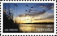 [CL Aniversario del estado de Nebraska., tipo HWC]