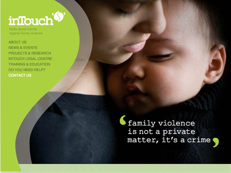 http://intouch.asn.au/  InTouch, the Multicultural Centre against Family Violence, is a statewide service, which provides services, programs and responses to issues of family violence in CALD (Culturally And Linguistically Diverse) communities.