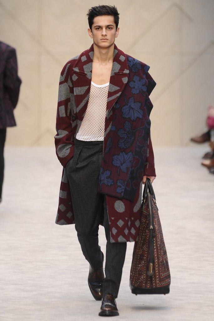 Burberry Prorsum Men's RTW Fall 2014 - Slideshow - Runway, Fashion Week, Fashion Shows, Reviews and Fashion Images - WWD.com