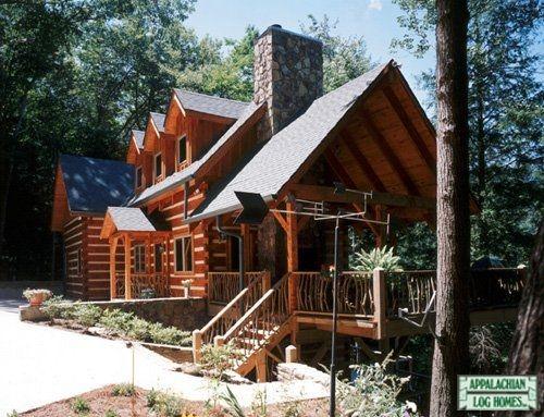 43 Best Log Home Gallery Images On Pinterest Log Homes