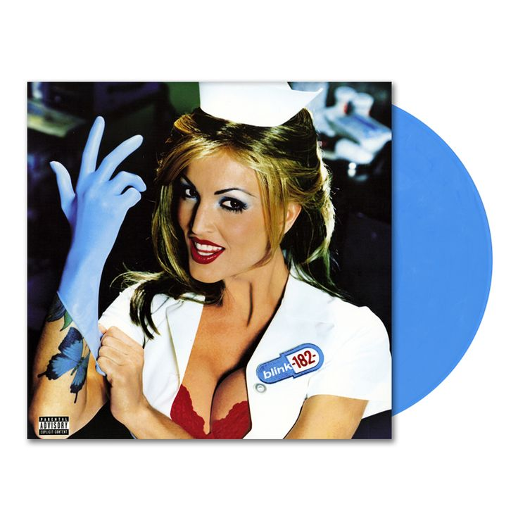 Lazy Labrador Records - Blink 182 · Enema of The State · LP · Latex Glove Blue, $189.99 (http://lazylabradorrecords.com/blink-182-enema-of-the-state-lp-latex-glove-blue/)