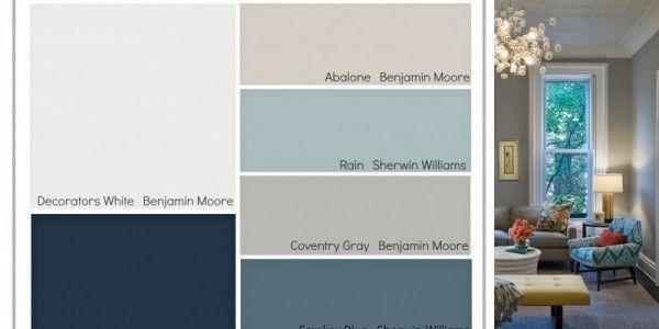 Transitional Paint Color Palette