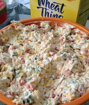 Recipe for Tried and True Skinny Poolside Dip - It uses lots of veggies and low fat ingredients so I did not feel guilty snacking on it. I will for sure be making this in the summer when I am actually poolside!