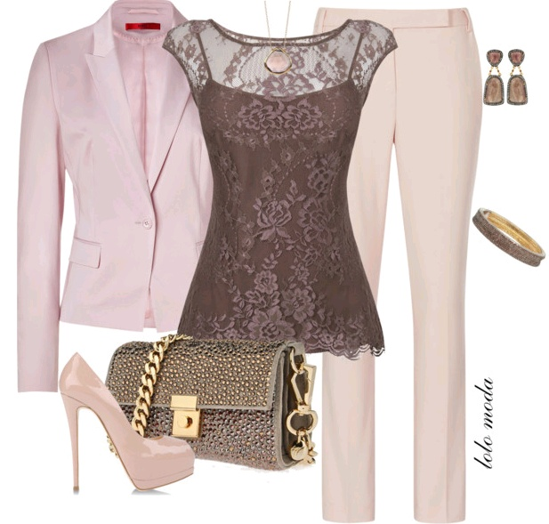 not too sure about the blazer, but I LOVE that top!