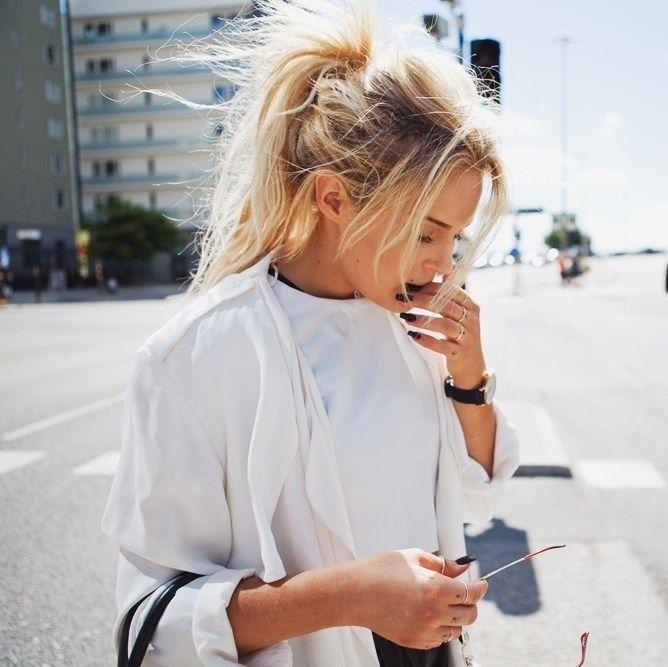 Messy hair Néha a kócos haj a legjobb haj ;) -> http://www.fashionfave.com/messy-hair#utm_source=pinterest&utm_medium=pinterest&utm_campaign=pinterest