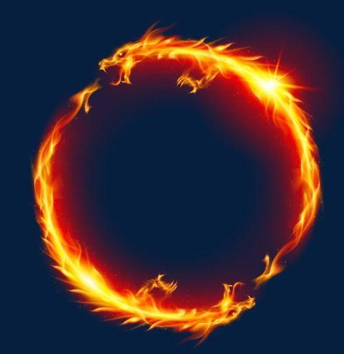 لهب التنين Art Prints Dragon Art Fire Dragon