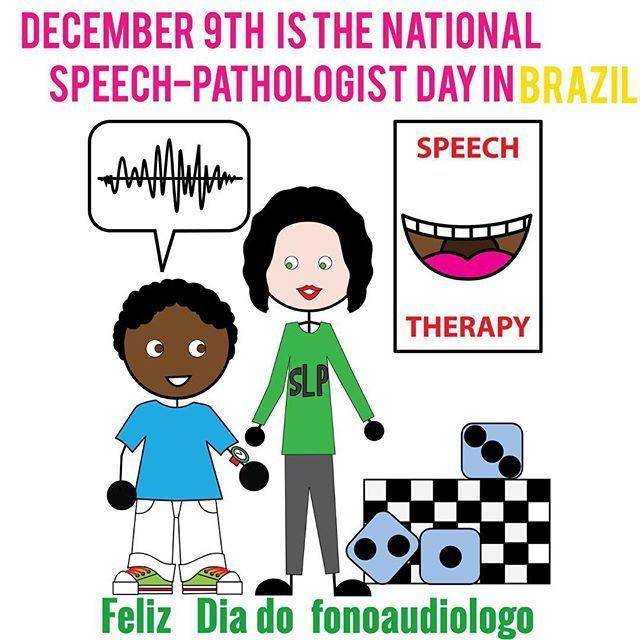 Feliz dia do fonoaudiólogo! In Brazil we have a national day to celebrate speech-language-pathologists and it is today. #speechtherapy #preschoolslp #iteachsped #fono #fonoaudiologia #diadofonoaudiologo
