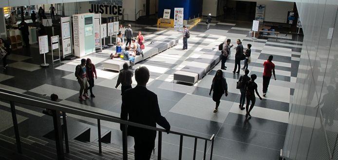 Lynn & Jules Kroll Atrium | John Jay College