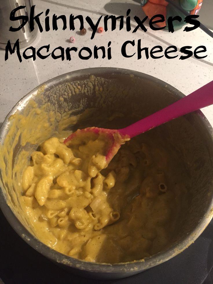 With hidden veg this is soooo good http://skinnymixers.com.au/2014/12/skinnymixers-macaroni-cheese-twist/