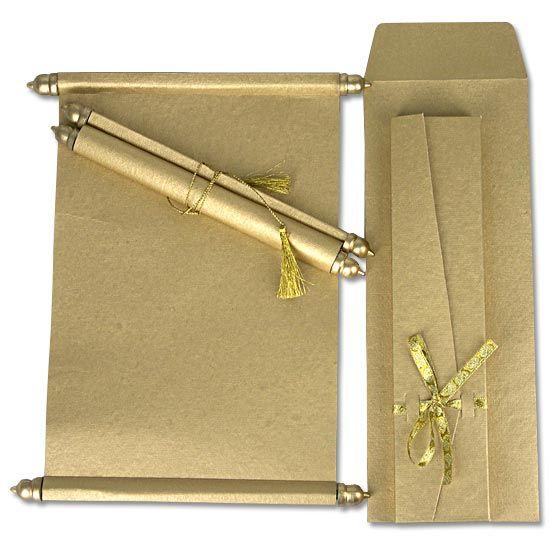 scroll designs for invitations