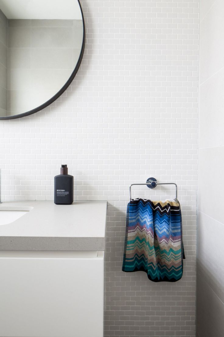 Bathrooms. See More. An Art Deco Apartment Gets A Modern Facelift.  Photography By Ben Mulligan. Styling By