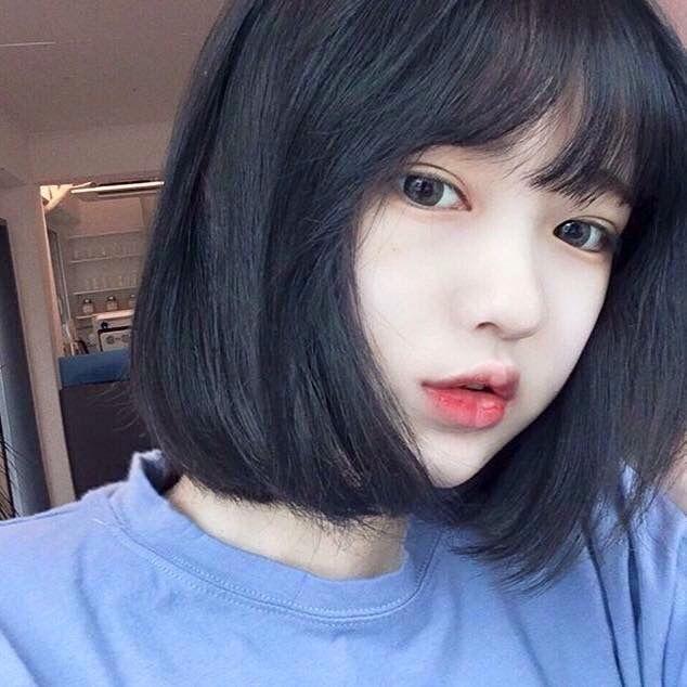 25 smukke korte hår koreanske stil ideer på pinterest-4191