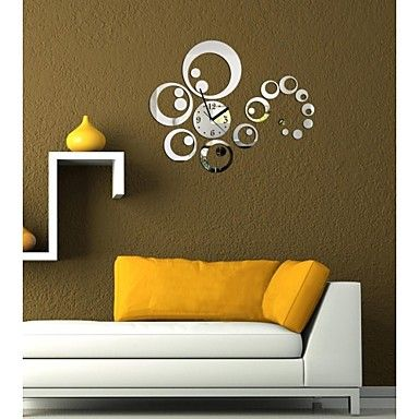 Best 25 Mirror Wall Clock Ideas On Pinterest Small