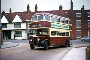 Colchester Daimler OHK433 Bus Photo | eBay