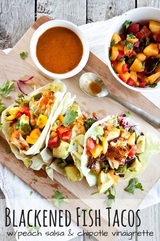 178 best healthy meals main dish recipes images on pinterest for Healthy fish taco recipe