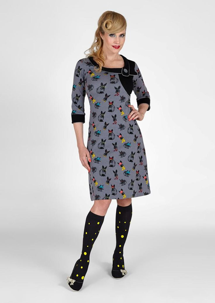 Smart Margot kjole Polly Bear 00628 - Køb online her! Look at that neckline!