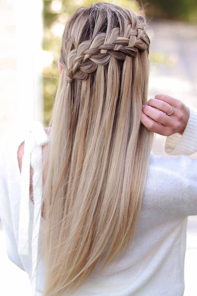 Popular Types Of Braids And Inspiring Ideas Of How To Wear Them Hair Styles Long Hair Styles Braided Hairstyles