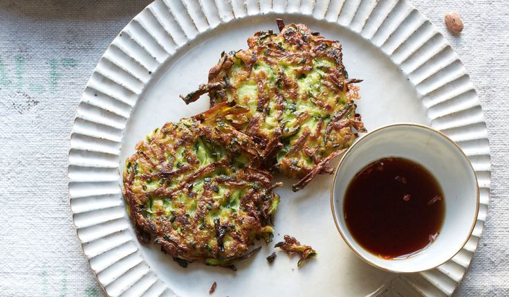 This recipe has me thinking of warmer weather and all the many ways to use one of my favorite vegetables. Zucchini Fritters - Bon Appétit