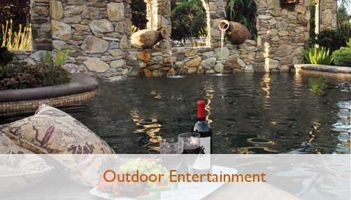 Bushnell Landscape Outdoor Entertainment Fire Elements