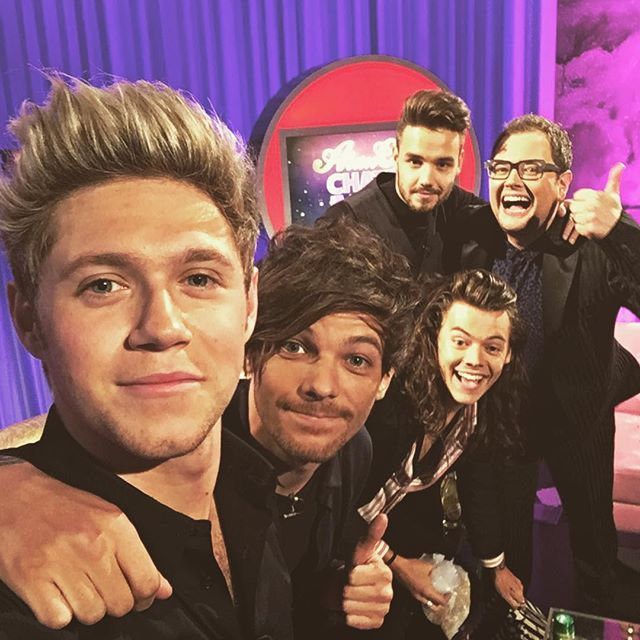 What a laugh taping Alan Carr chatty man tonight ..he is the funniest guy ever…