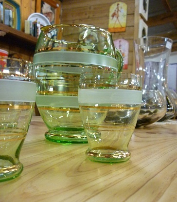 Vintage glass from the Mill Markets - Ballarat, Daylesford & Geelong (from Stall #452 Ballarat) www.millmarkets.com.au