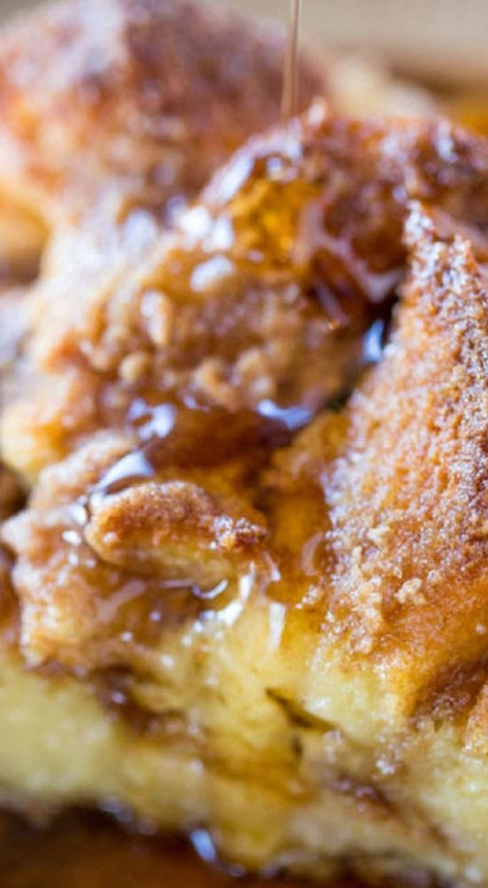 Easy French Toast Bake.